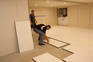 Installing insulated subfloor panels in Niagara Falls